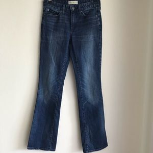 Gap perfect boot mid rise jeans 26R